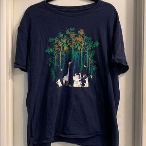 Jungle Painting T-shirt